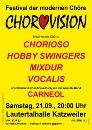 Plakat Chorovision als Bild