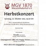 Plakat 10.10. Wiesenthalerhof