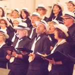 Chor inbrünstig singend 2