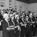 Chor singend sw