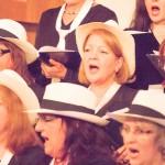 Sopran singend