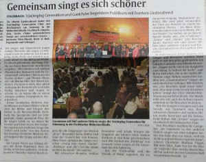 Rheinpfalz Bericht Fischbach