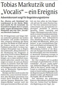 Bericht Rheinpfalz Kusel