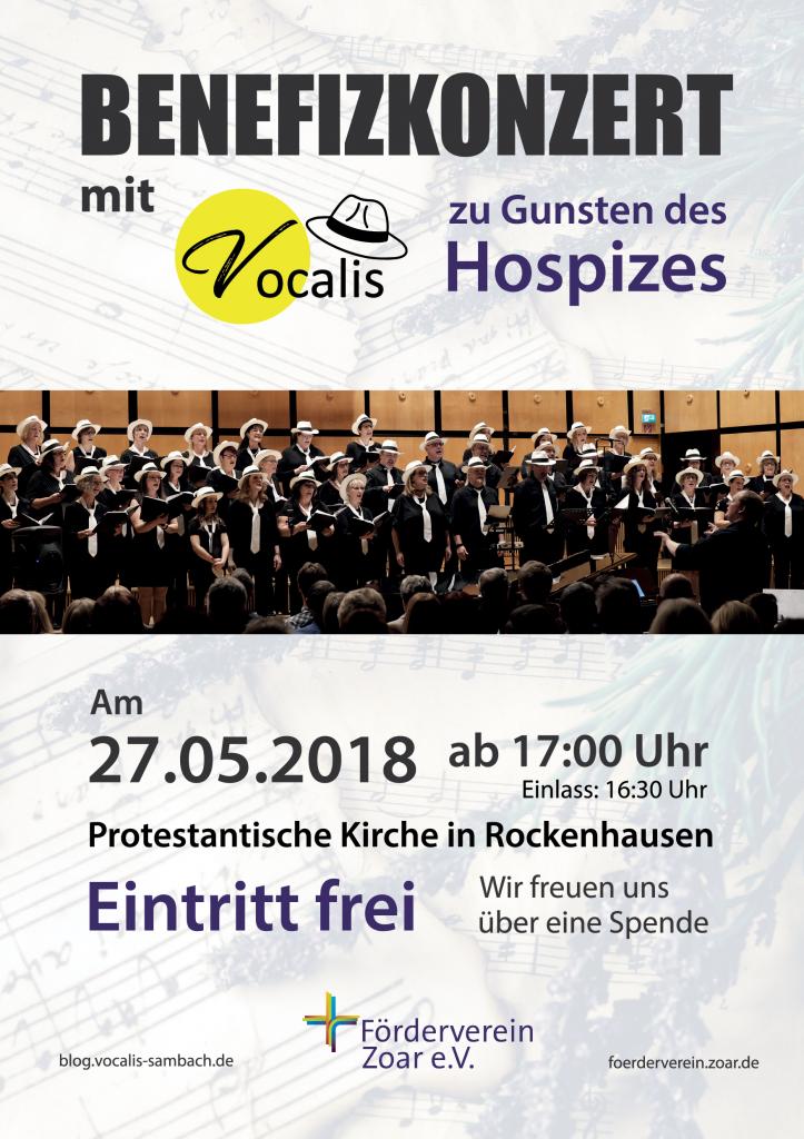 Plakat Benefizkonzert Zoar Rockenhausen