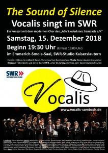 Vocalis singt im SWR